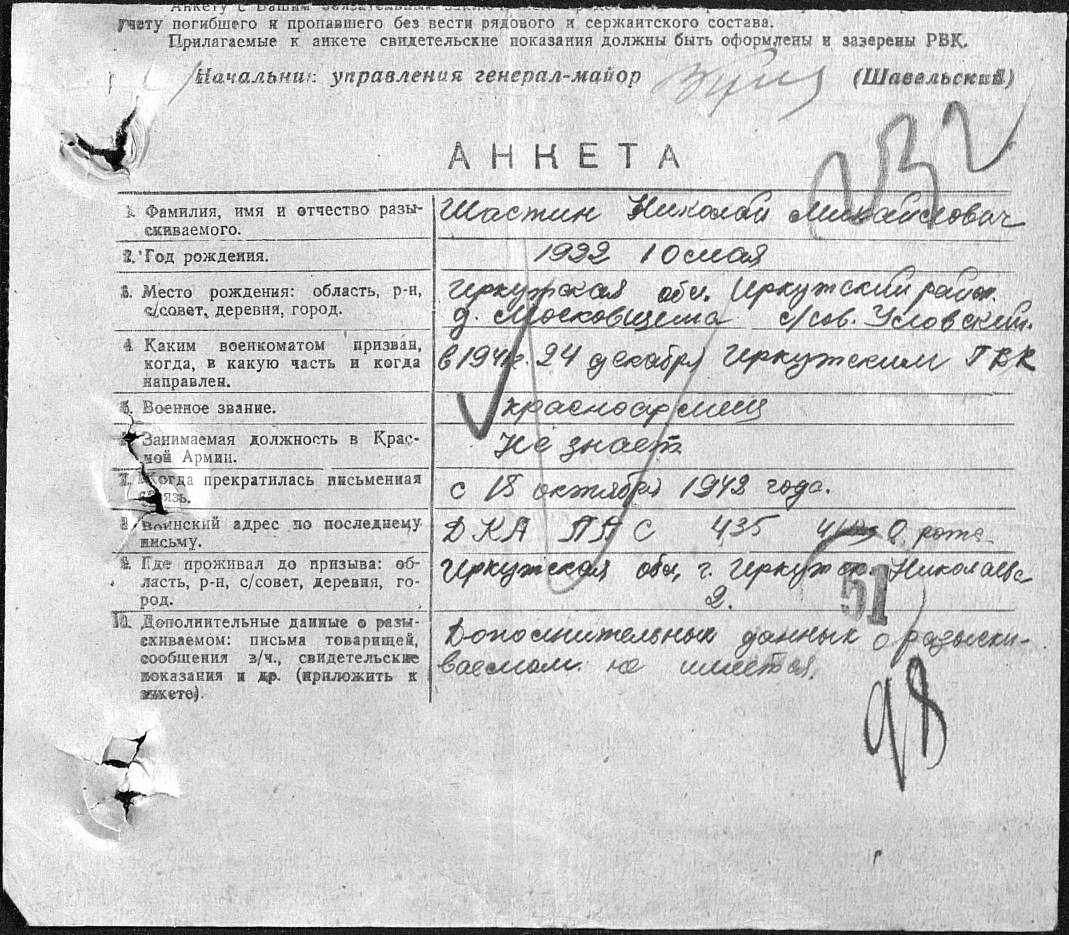 конце владимир колесников 1948 г г краснозаводск московская область занимаешься спортом, значит